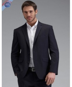 Men's Navy Tonic Slim Fit Suit 2-Button