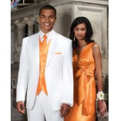 2-Button Tuxedo Suit + Vest in Any Color. On Sale Now!