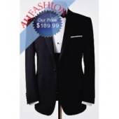 One Button Tuxedo Super 150's Wool