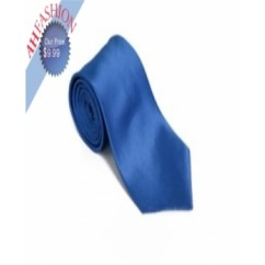 Royal Blue Solid Necktie
