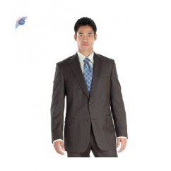 Classic Two Button Brown Suit by Hardwick