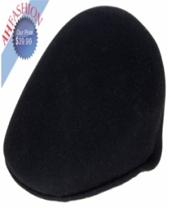 Mens Hat Black English Cap