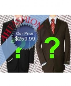 Buy ANY 2 Men's Suit Super 150's Wool ONLY $259.99 Made In Italy