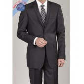 Charcoal Mens Suit G. Fiorrelli 2-Button Suit