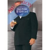 Brand New 4 Button Tuxedos Super 150's Wool + Tuxedo Shirt + Bow Tie On Sale Now for $199.99