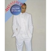 Quality 2-Button White Tuxedo for Wedding