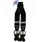 Men's Black Suspender
