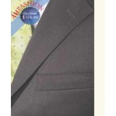 Brand New Charcoal Italian Suit + 100% Italian Shirt + 100% Silk Tie