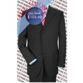 Charcoal Gray/Grey Business Suit Made from High Quality Super 150's Wool