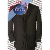 Ultra High Quality Brown Vested Suit, Brown Suit 3 Piece Suit Ultra Thin Super 150's Wool Suit